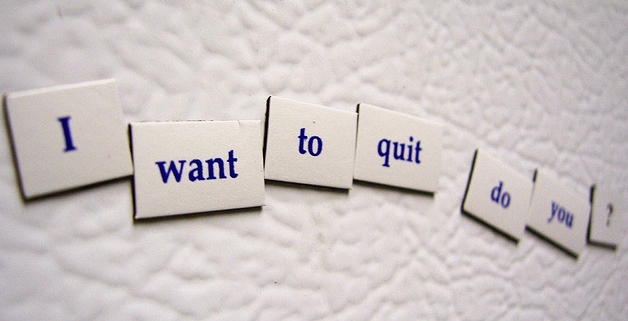 quit writing