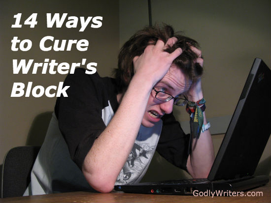 HELP! How to get rid of this writer's block, NOW!?